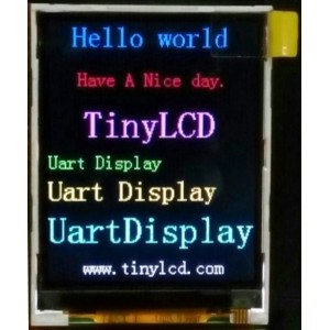 2.2 Inch Color TFT Display for Raspberry Pi with Uart Interface.