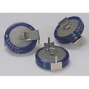 Supercap Capacitor 5.5V 1.0 Farad - 3 pieces