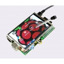 3.5'' TFT Display + Touch Screen for Raspberry Pi A+/ B/ B+/ 2/ Zero/ 3  (26 pin)