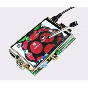 3.5'' TFT Display + Touch Screen & RTC for Raspberry Pi A+/ B/ B+/ 2/ Zero/ 3  (26 pin)