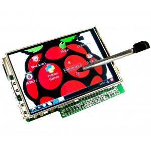 3.5'' TFT Display + Touch Screen for Raspberry Pi A+/ B+/ 2/ Zero/ 3  (40 pin)