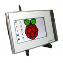 7 inch Display with Casing to mount Raspberry Pi A+ B+ and Pi 2 image1