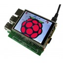 2.8'' TFT Display + Touch Screen & RTC for Raspberry Pi A+/B+/ Pi 2/ Pi Zero/ Pi 3_image 1