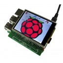2.8'' TFT Display & RTC for Raspberry Pi A+/B+/ Pi 2/ Pi Zero/ Pi 3_image 1
